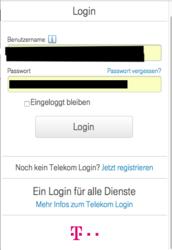 atdrafunhe: Bei telekom einloggen