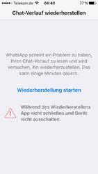 whatsapp fehler chatverlauf