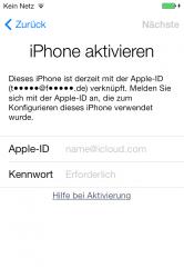 apple id löschen macbook