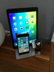 apple watch ipad und iphone ladestation apfeltalk. Black Bedroom Furniture Sets. Home Design Ideas