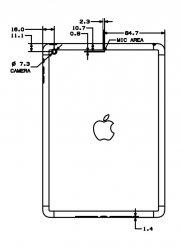 genaue ma e von apple produkten apfeltalk. Black Bedroom Furniture Sets. Home Design Ideas