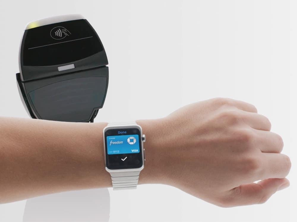 Apple Pay auf Apple Watch