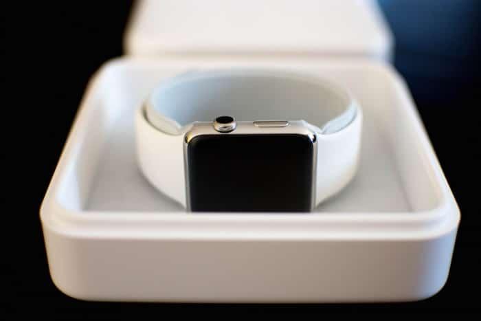Die Apple Watch.