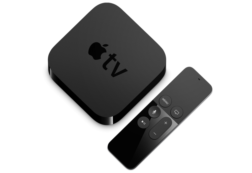Apple TV 4 + Remote