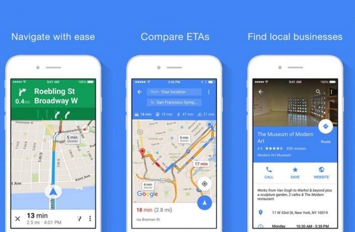 Google Maps Nach Update Auch Fur Die Apple Watch Apfeltalk Magazin