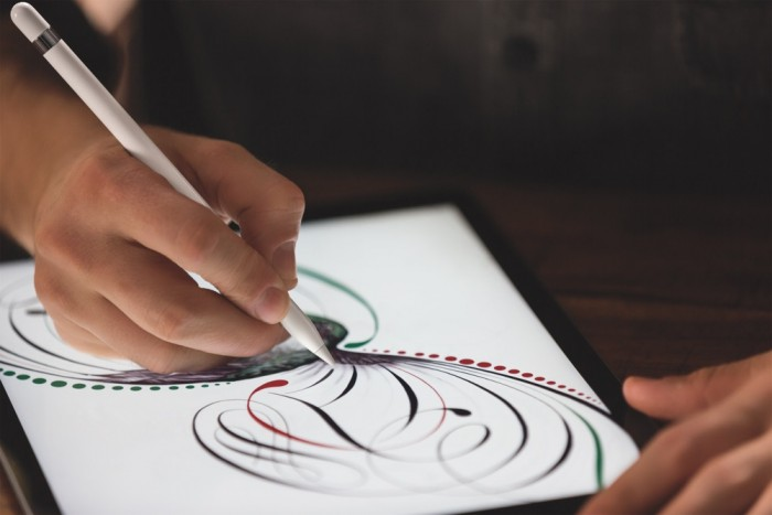 iPad Pro mit Apple Pencil