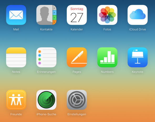 Apples Speicherdienste nennt sich iCloud.