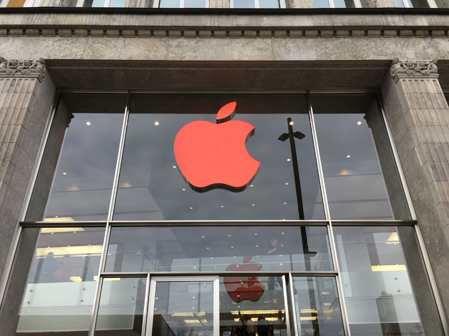 Apple Store Hamburg Aids