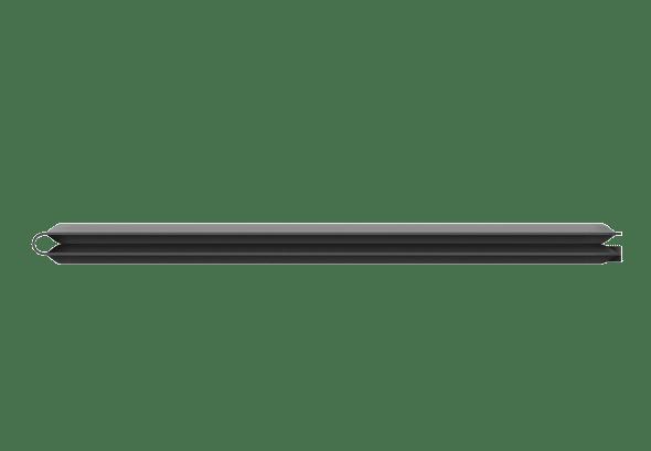 Zusammengeklappt kommt es auf eine Höhe von einem Zentimeter.