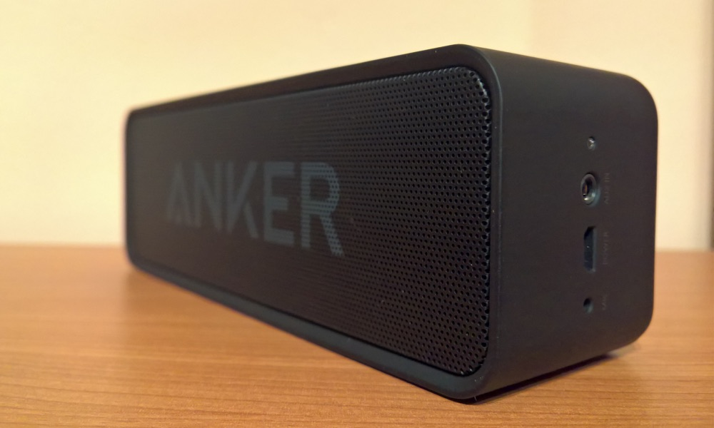 anker soundcore im test bluetooth lautsprecher mit massig akkulaufzeit apfeltalk magazin. Black Bedroom Furniture Sets. Home Design Ideas