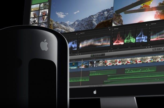 Final Cut Pro X und der Mac Pro.