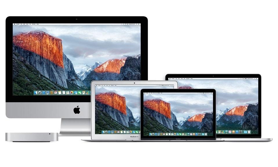 MacBook iMac Mac mini