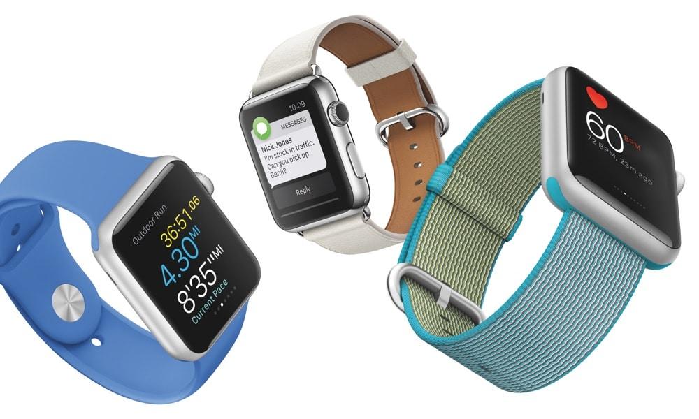 Apple Watch, eines der Wearables von Apple