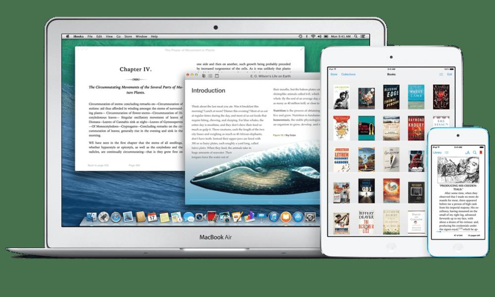 iBooks immer und überall – 4 Bücher kostenlos