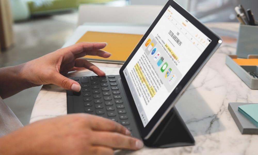 iPad Pro mit Smart Keyboard
