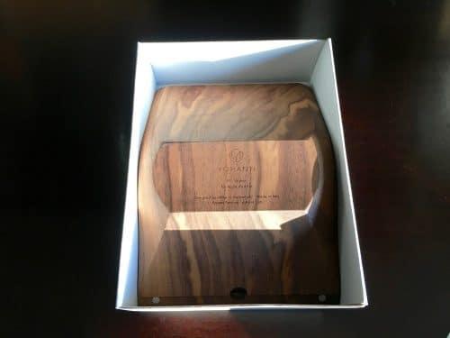 Schlichtes Design und einfache Verpackung. Yohann wird nachhaltig hergestellt.