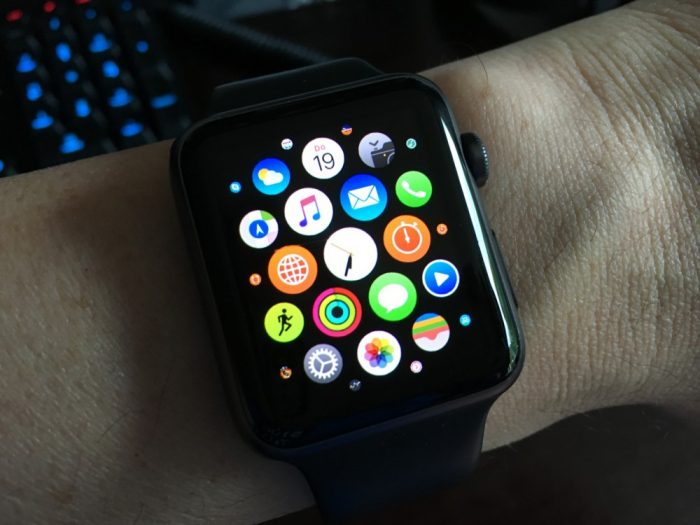 Apps auf der Apple Watch.
