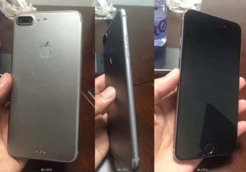 Drei Seiten eines möglichen iPhone 7 Prototypens.
