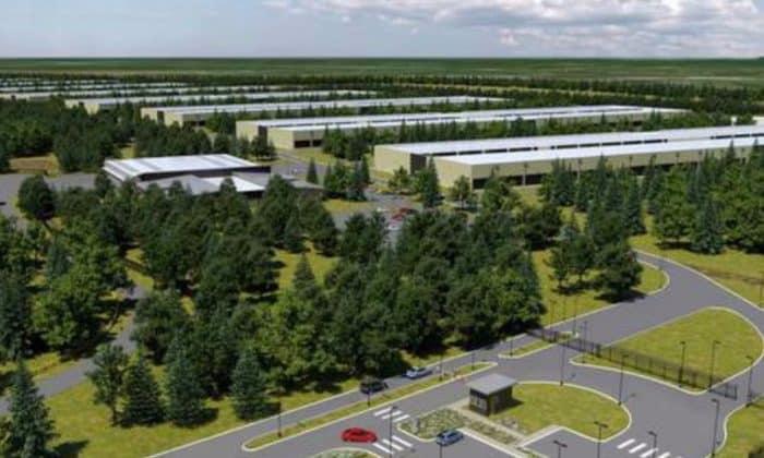 Apple Rechenzentrum Datenzentrum Irland