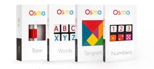 Das Osmo Genius-Kit enthält vier Spiele.
