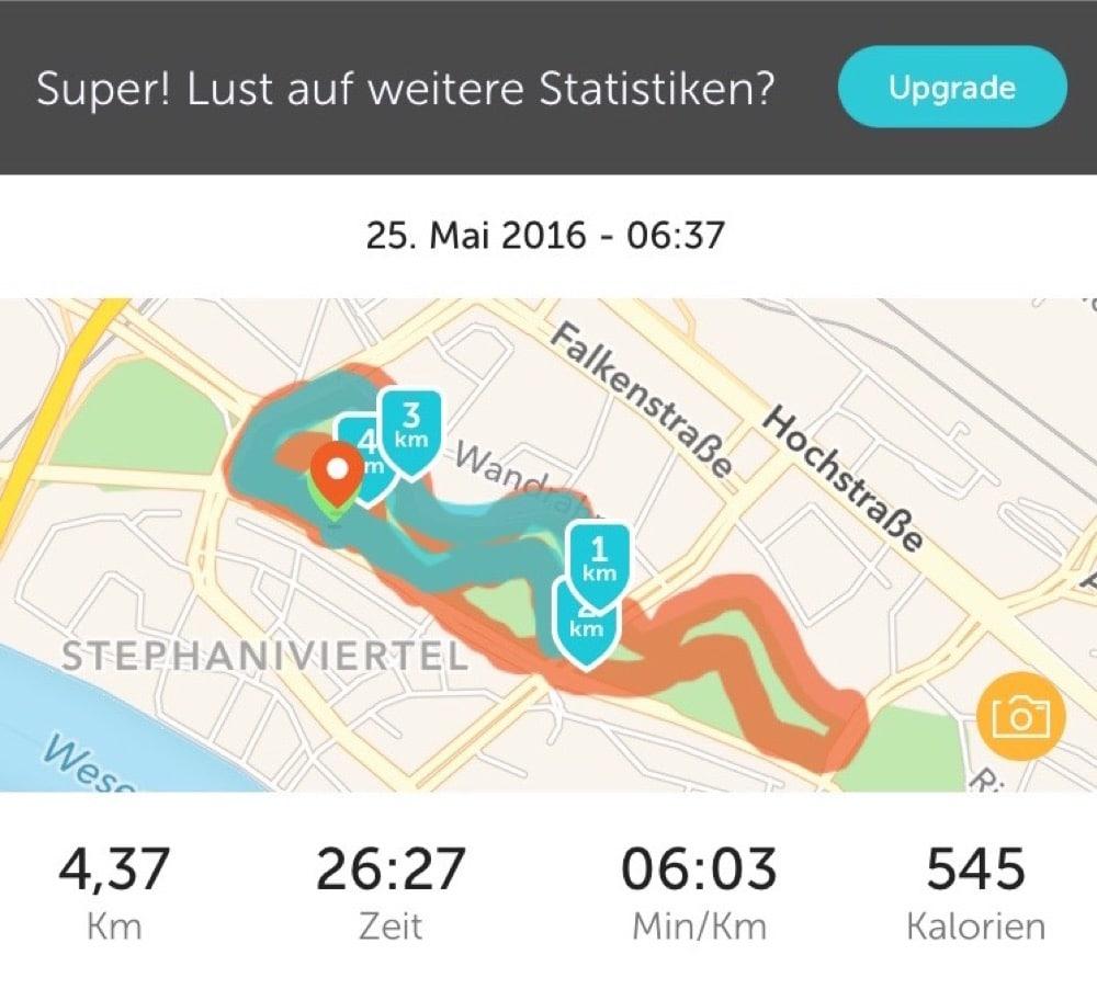Tschüss Runkeeper, Hallo Aktivitäten-App
