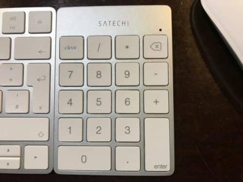 Im direkten Vergleich macht das Keypad eine gute Figur.