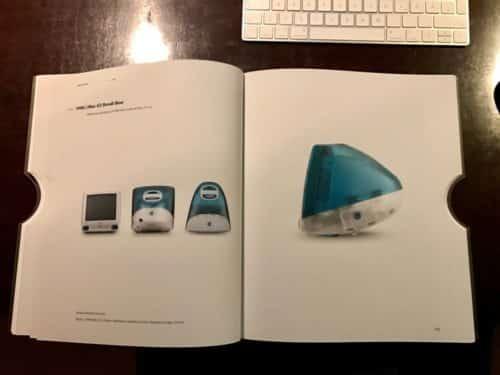 Der erste iMac im Design von Jonathan Ive.