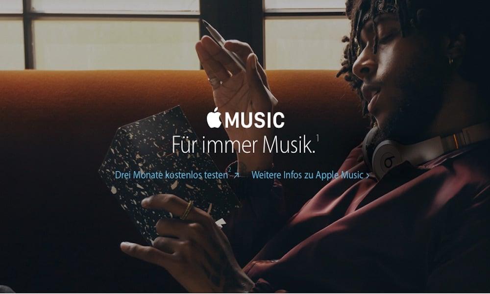 Apple Music: 99 Euro für 12 Monate