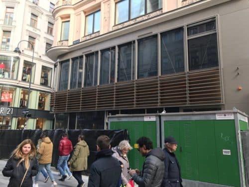 Apple Store Wien - Blick von Kärtnerstraße