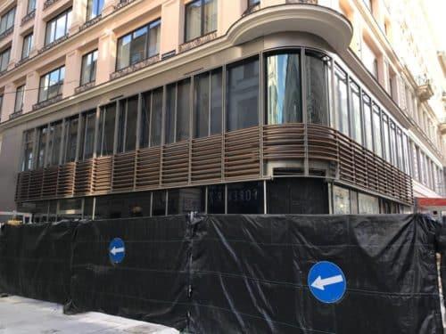 Apple Store Wien - Gebäudefront