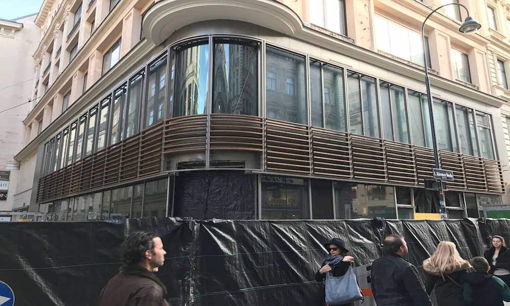 Apple Store Wien – Besichtigung der Baustelle | Update Mai 2017