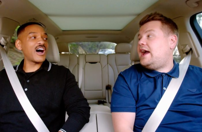 Carpool Karaoke mit James Corden und Will Smith