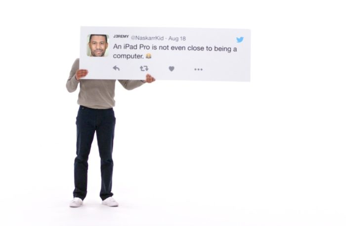 iPad Pro Werbespot
