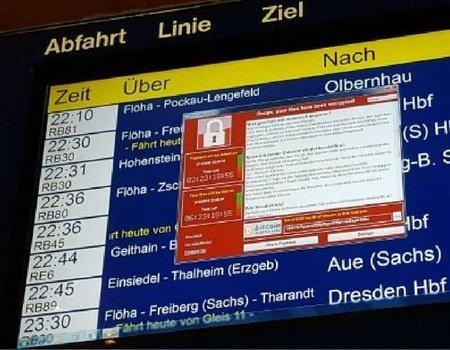 Noch Tage nach dem Angriff hatten Unternehmen, wie die Bahn Probleme mit der Attacke.