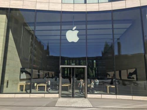 Seit 2013 am Kö-Bogen zu finden: Apple Düsseldorf.