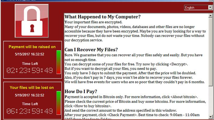 Ransomware verschlüsselt die Festplatte und gibt diese nur gegen Zahlung einer Gebühr wieder frei.