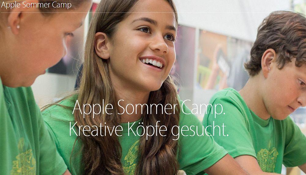 Apple Sommer Camp – Seminarreihe für Kinder