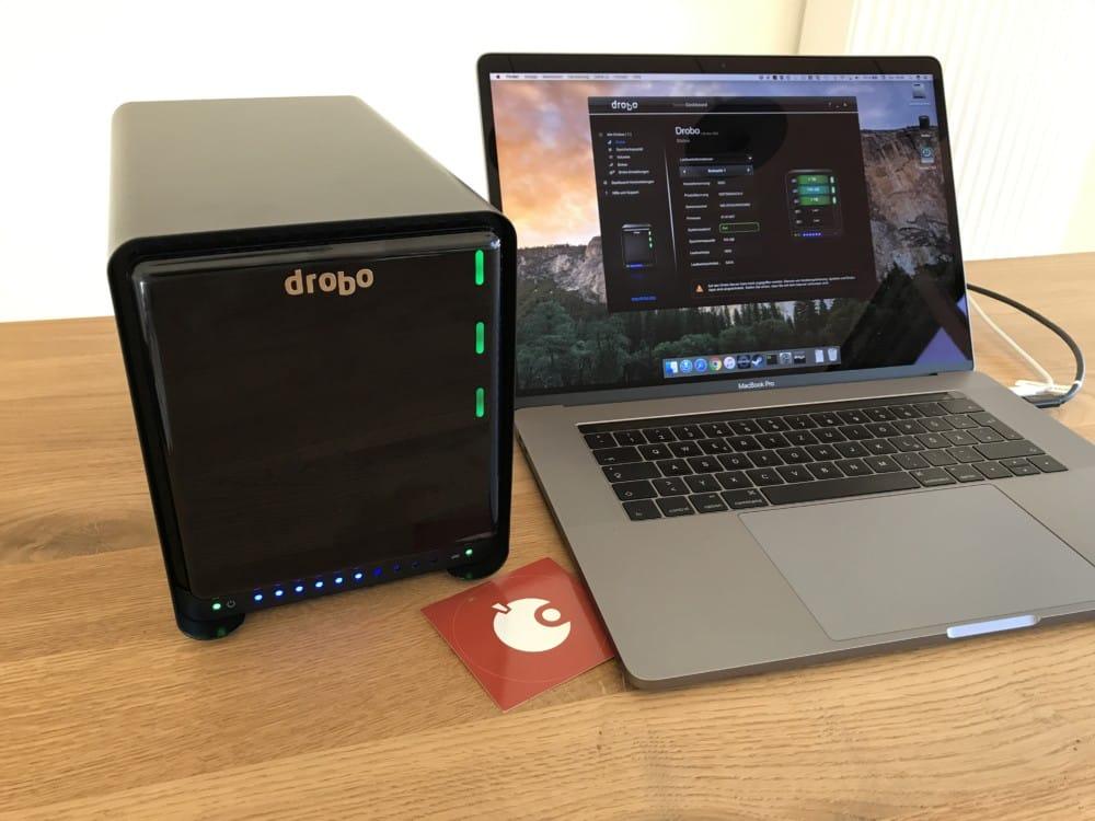 Ausprobiert: Drobo 5D3 DAS, externes Festplatten-Array