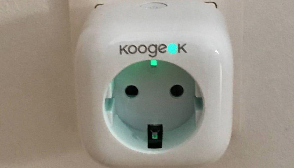 Ausprobiert: Koogeek Wi-Fi Smart Plug