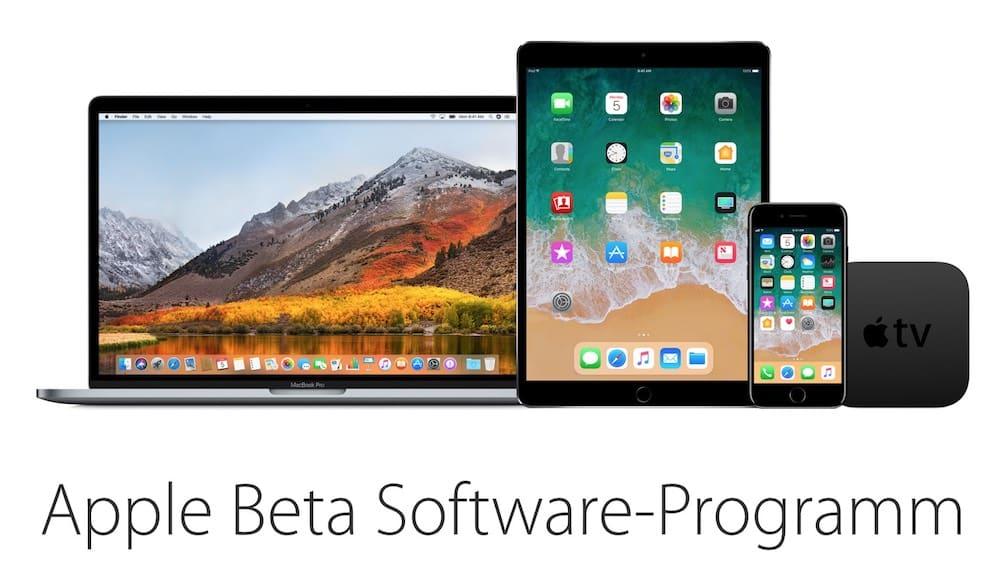 Public Beta – iOS 11, tvOS 11 verfügbar und macOS High Sierra in Kürze