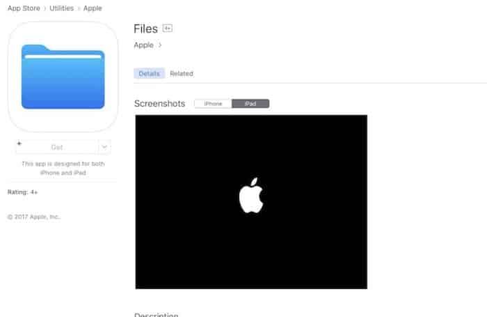iOS 11 App Store Files