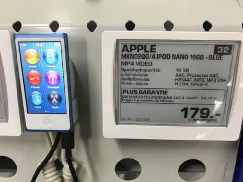 In einigen Elektronikmärkten gibt es die Geräte noch.