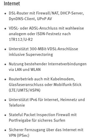 7590 technische Daten Internet