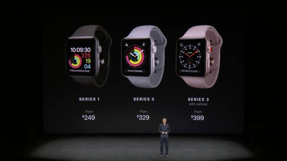 Apple Watch Series 3 in Österreich