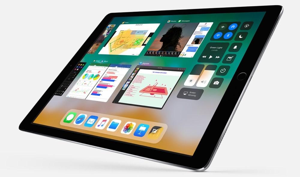 iOS 11 Kontrollzentrum iPad