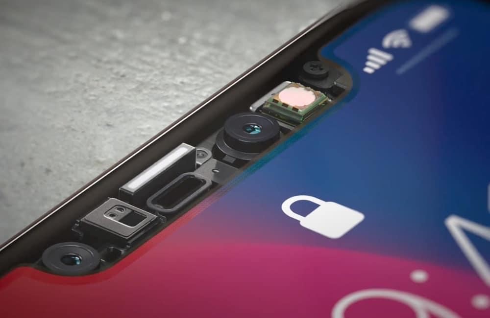 iPhone X Sensoren