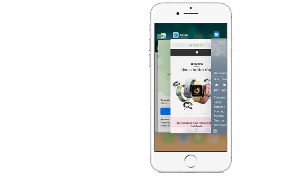 iOS App-Switcher
