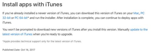 Apps mit iTunes - Apple Homepage