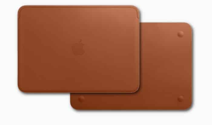 """MacBook 12"""" Lederhülle"""