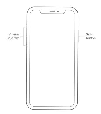 iPhone X Screenshot Apple Homepage